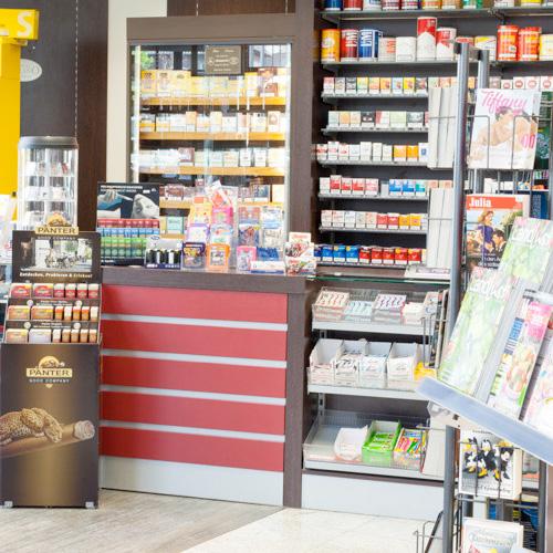 Ausstattung und Verkaufsförderung für Tabakwarenläden und Lottoannahmestellen