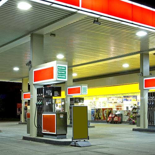 Bedarf für Tankstellen