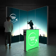 "Pixlip GO  LED Messestand  ""Stand ES2020"""