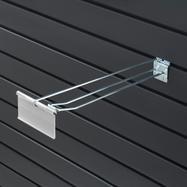 Lamellenwand-Doppelhaken mit Pendeltasche