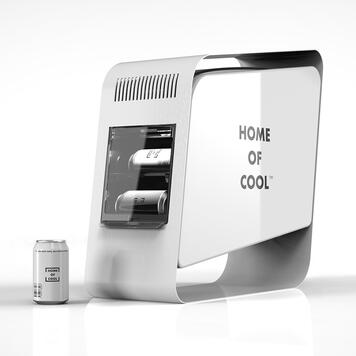 "POS Cooler ""Home of Cool"", Kühlvitrine"