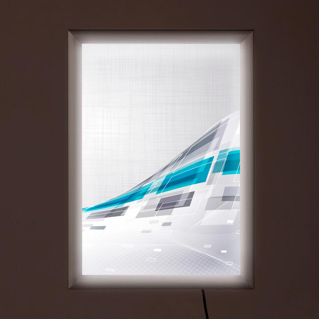 "LED Leuchtrahmen ""Simple"", doppelseitig"