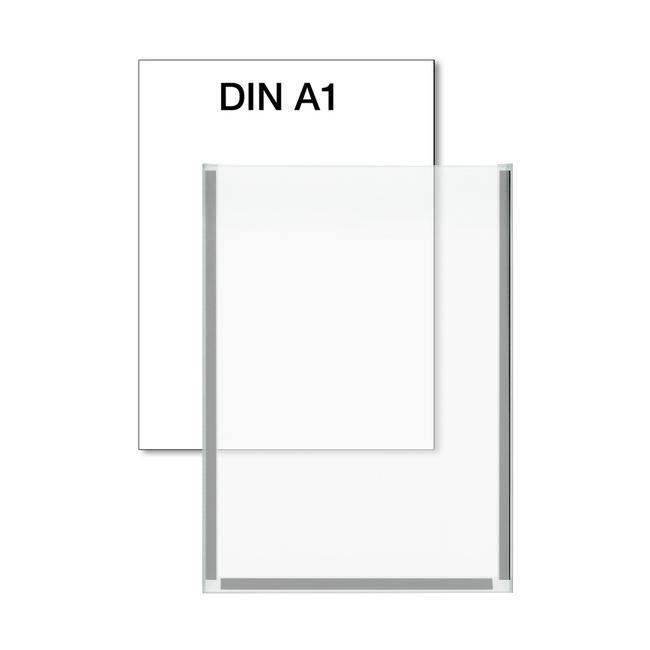 Plakattasche mit Magnetleisten