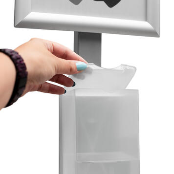 "Hygieneständer ""Sensor-Steel"""